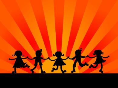 kids dancing let light shine