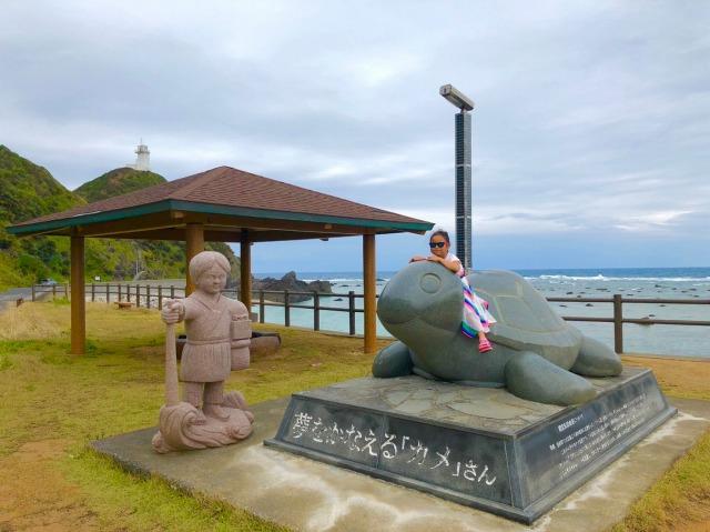 奄美大島観光夢をかなえるカメさん04