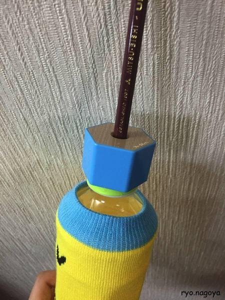 鉛筆削ってみるといい感じ!