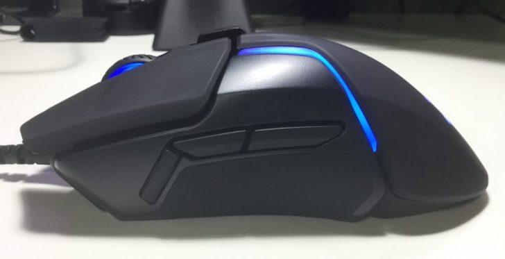 SteelSeries Rival 600 サイドボタン