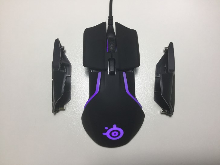 Rival 600 取り外し