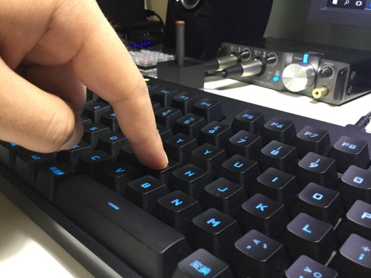 GPRO キーボード 打鍵音