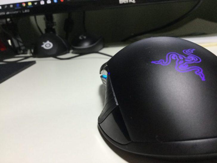 Razer Lancehead Tournament Edition サイドボタン