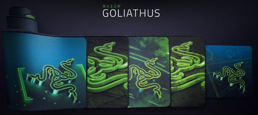 Razer Goliathus speed edition 4種類