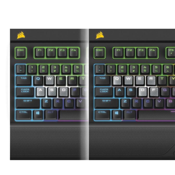 STRAFE-RGB-MX-Silent キーキャップ