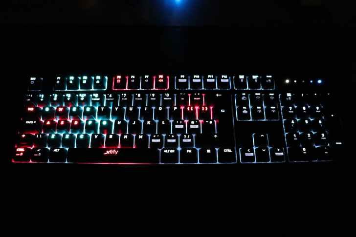 Xtrfy K2-RGB 静的ライティング