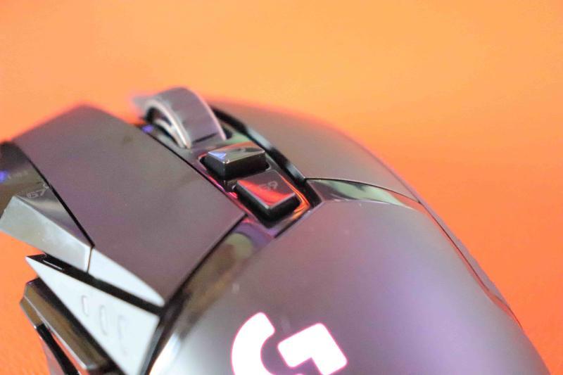 「G502WL」のトップボタン