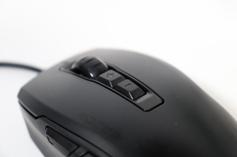 「Kone Pure Ultra」のDPI変更ボタン