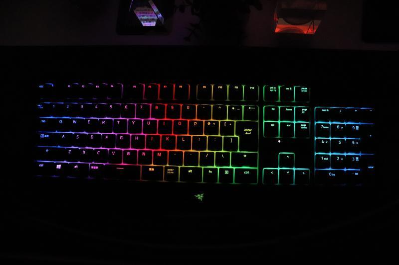 BlackWidow LEDライティング