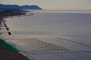 夜明けの津軽海峡
