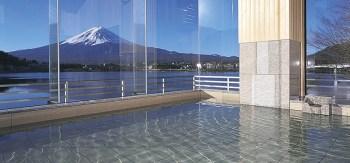 富士山の見える和風旅館「湖山亭うぶや」