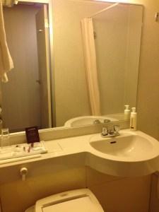 ガーデンホテル京都四条の洗面台