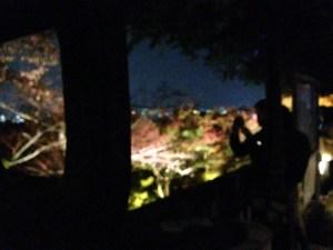 清水寺 ライトアップ写真2015その4