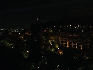 京都 清水寺 ライトアップ 紅葉その4
