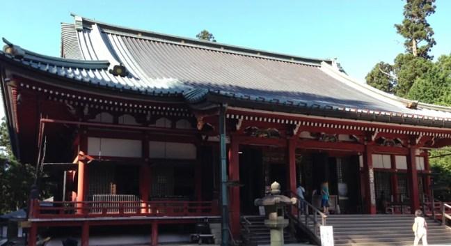 8月の延暦寺 東堂の大講堂