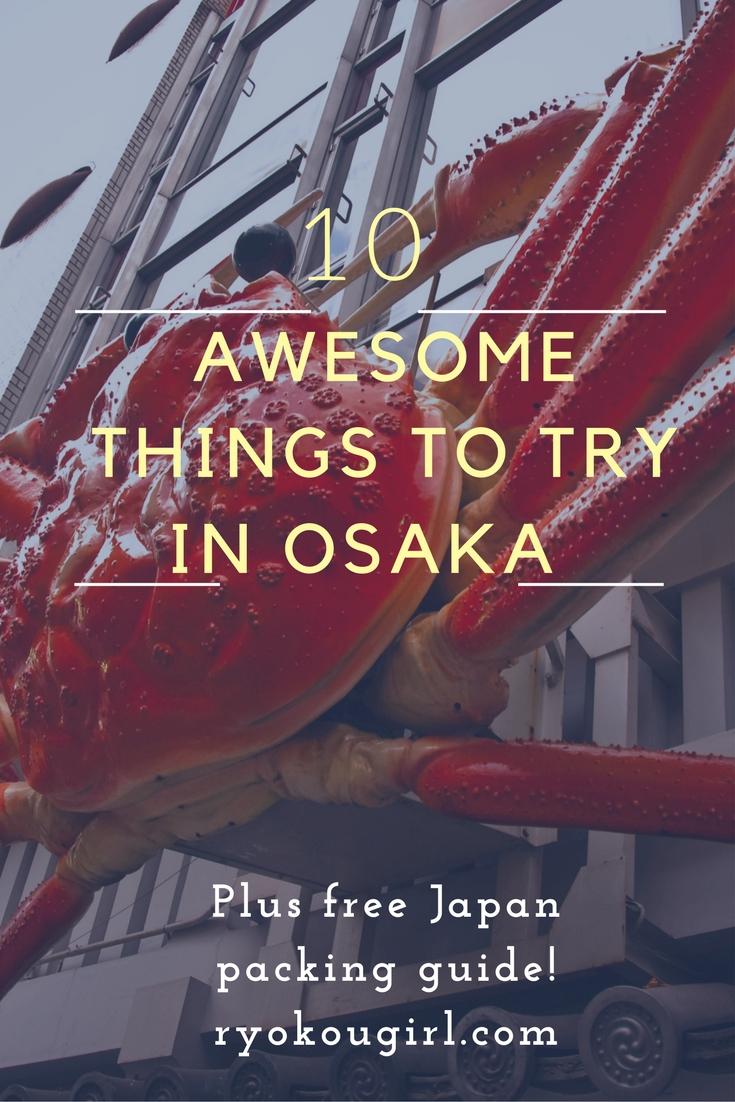 Check out this list of 10 awesome things to do in Osaka Japan
