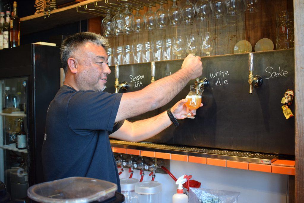 craft beer brewery experience Japan