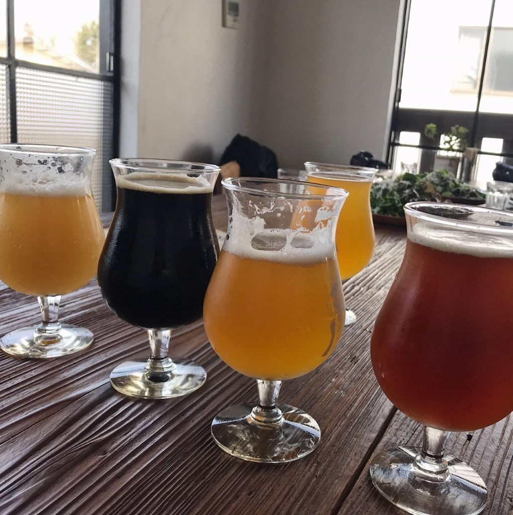 beer tasting in Japan