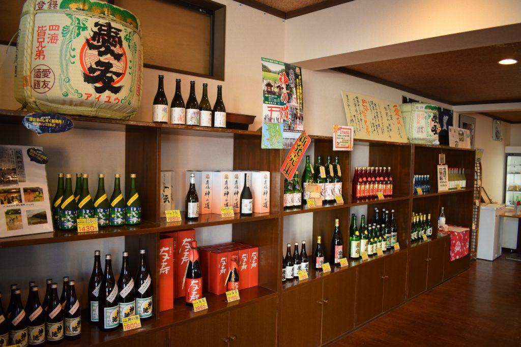 sake store Japan Itako city