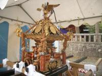 伊豆山神社の神輿下り