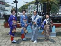 下田黒船祭 侍と芸者