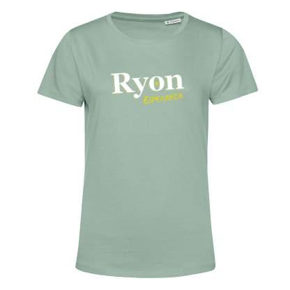 T-shirt Vert Sage Femme