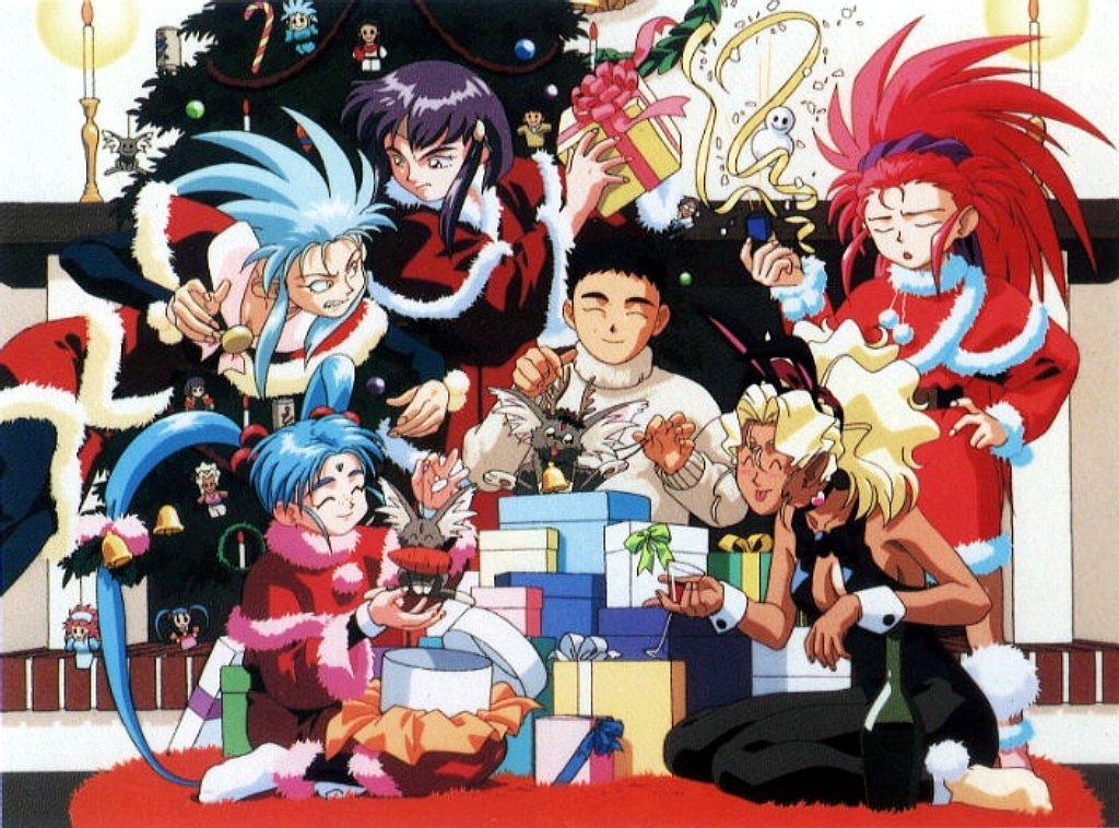 Merry Christmas Ryo Ohkis Anime Loft