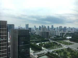 丸ビルからの景色