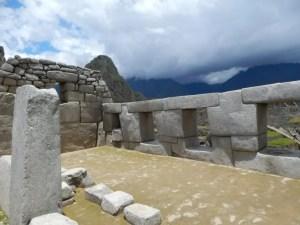 マチュピチュ遺跡の建物