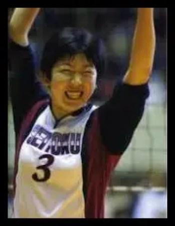 荒木絵里香,日本代表女子,バレーボール