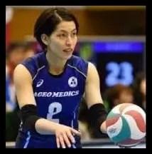 冨永こよみ,日本代表女子,バレーボール