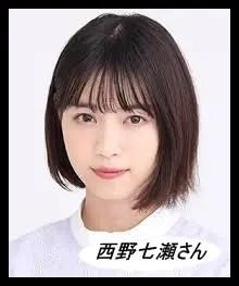 西野七瀬,乃木坂46,アイドル
