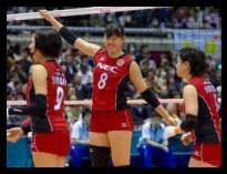 島村春世,女子日本代表,バレーボール