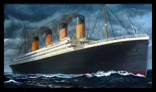タイタニック号,沈没船,豪華客船