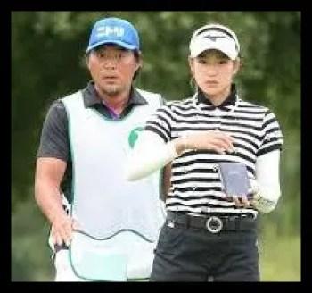 原英莉花,女子プロゴルファー,キャディー,尾崎智春