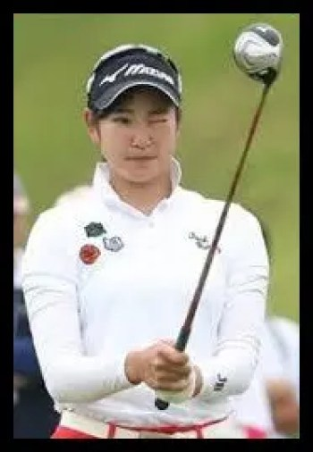 原英莉花,女子プロゴルファー,高校