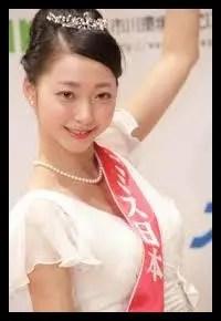 畠山愛理,モデル,ミス日本,元新体操選手