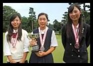 鶴岡果恋,女子プロ,ゴルフ,中学時代