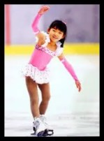 坂本花織,女子フィギュアスケート,幼少期