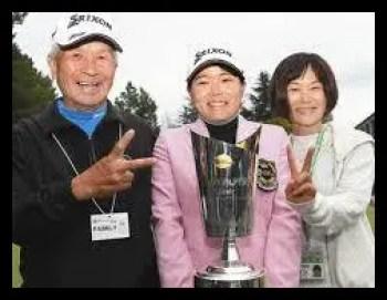 勝みなみ,女子プロ,ゴルフ,祖父,母親