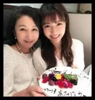 三田友梨佳,フジテレビ,アナウンサー,母親,きれい