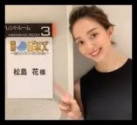 松島花,ファッションモデル,女優,テレビ番組