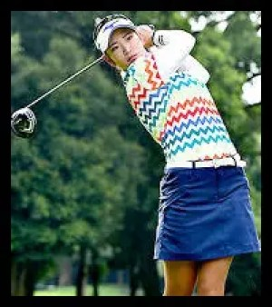 原英莉花,ゴルフ,女子プロ,ウェア,かわいい