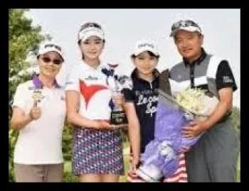 セキユウティン,ゴルフ,女子プロ,妹,ユウリ,可愛い,父親,母親