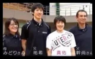 石川真佑,バレーボール,全日本女子,学生時代,かわいい,家族