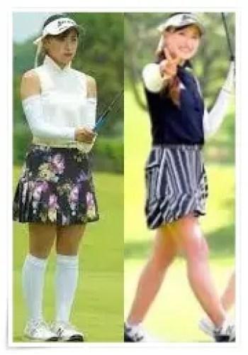 臼井麗香,女子プロ,ゴルフ,選手,可愛い,ウェア