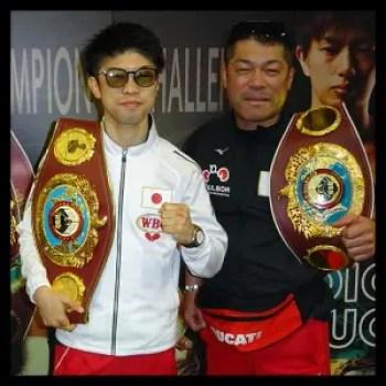 田中恒成,ボクシング,父親