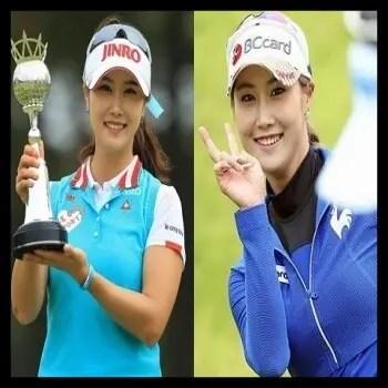 キム・ハヌル,ゴルフ,韓国,女子プロ,美人,可愛い,ウェア