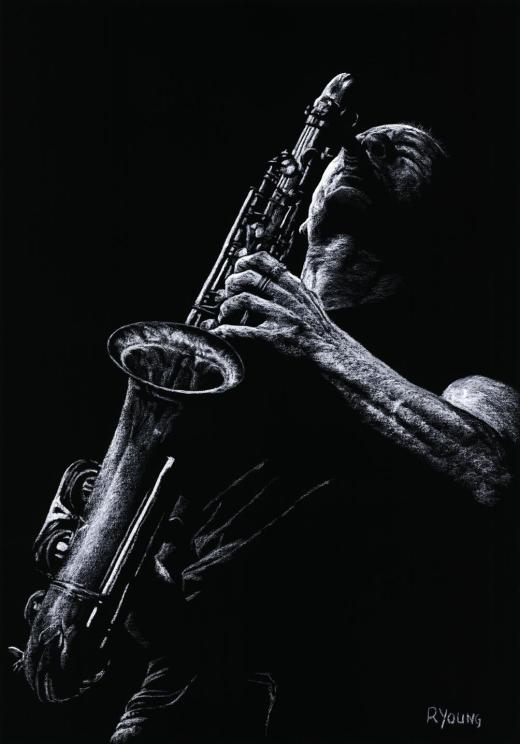 Eclectic Sax - Mats Gustaffson. Produced in cooperation with Michael Hoefner.