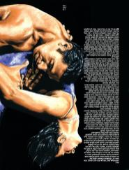 Emotional Tango oil painting by Richard Young